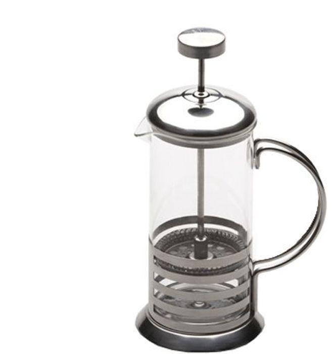 Френч-пресс BergHOFF Studio, 800 мл1106802Френч-пресс BergHOFF Studio выполненный из ударостойкого жаропрочного стекла, полипропилена и высококачественной нержавеющей стали, практичный и простой в использовании. Засыпая чайную заварку под фильтр и заливая ее горячей водой, вы получаете ароматный чай с оптимальной крепостью и насыщенностью. Остановить процесс заварки чая легко. Для этого нужно просто опустить поршень, и заварка уйдет вниз, оставляя вверху напиток, готовый к употреблению. Современный дизайн полностью соответствует последним модным тенденциям в создании предметов бытовой техники.