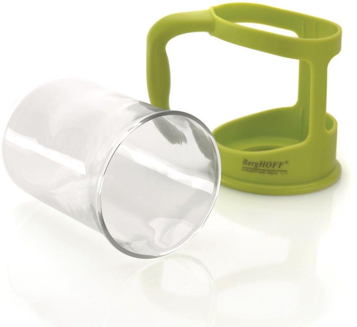 Набор чашек BergHOFF Studio, цвет: лаймовый, 200 мл, 2 шт1106840Набор чашекBergHOFF порадует вас своим качеством. Яркий дизайн чашек не останется незамеченным и украсит ваш стол. Материал: термостойкое боросиликатное стекло. Не нагревающиеся ручки изготовленыиз высококачественного синтетического материала Рекомендуется мыть вручную.