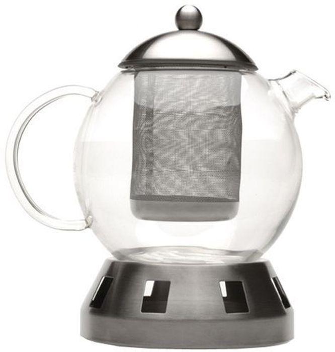 Чайник заварочный BergHOFF Dorado, 1,3 л1107035Чайник заварочный BergHOFF Dorado выполнен из термостойкого стекла и нержавеющей стали. Отлично подходит для заваривания любых сортов чая и травяных настоев. Наружная крышка выполнена из нержавеющей стали с полипропиленовой прокладкой. Можно мыть в посудомоечной машине. Объем: 1,3 л.