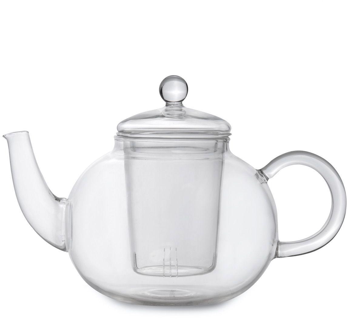 Чайник заварочный BergHOFF Studio, с фильтром, цвет: прозрачный, 1 л. 11070371107037Стильный стеклянный чайник отлично впишется в ваш интерьер. Благодаря фильтру, заваривать в нем чай будет очень удобно!