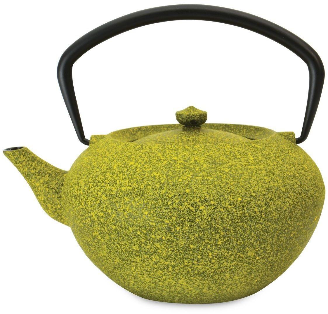 Чайник заварочный BergHOFF Studio, чугунный, цвет: лаймовый, 1,3 л1107047
