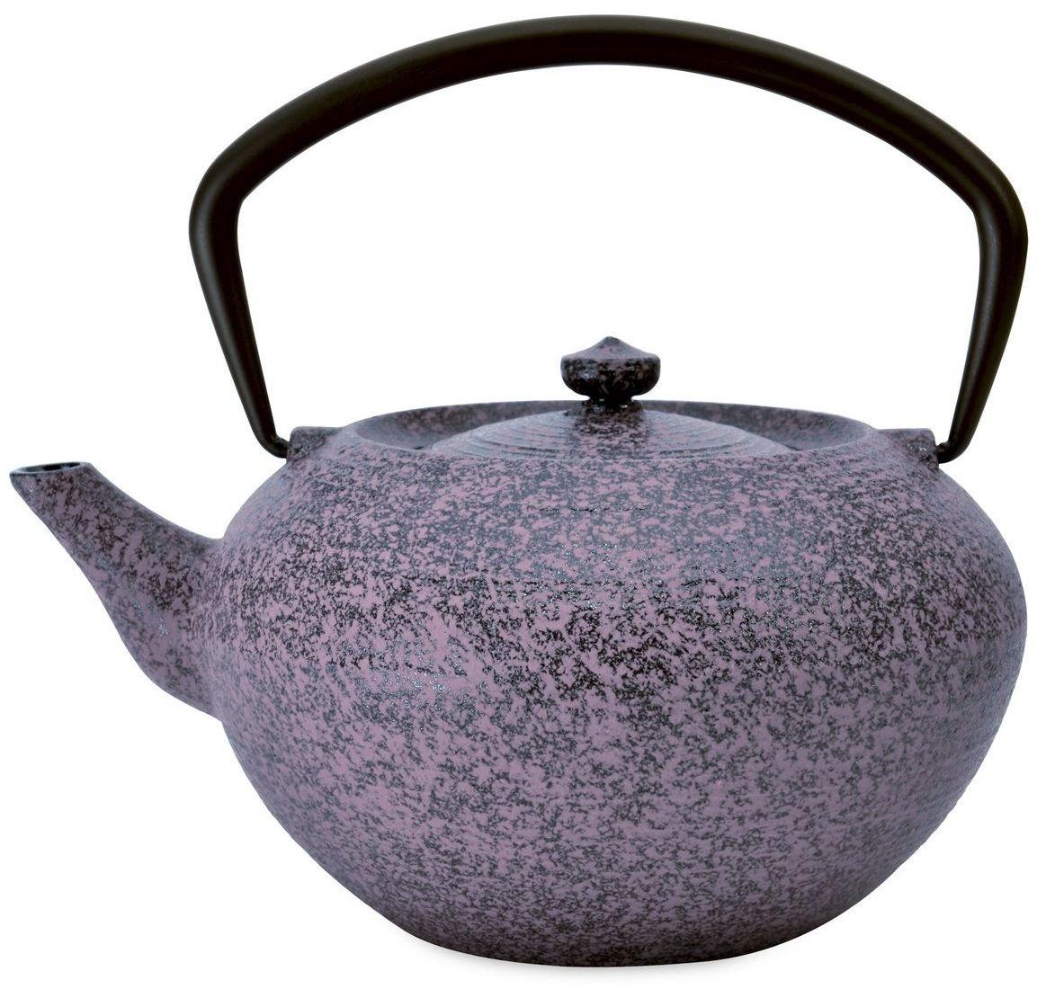 Чайник заварочный BergHOFF Studio, чугунный, цвет: фиолетовый, 1,3 л1107049Чайник заварочный BergHOFF Studio изготовлен из чугуна. Такой чайник идеально подойдет для заваривания чая. Он хорошо держит температуру, что способствует более полному раскрытию цвета, аромата и вкуса чайного букета. Изделие прекрасно дополнит сервировку стола к чаепитию и станет его неизменным атрибутом.
