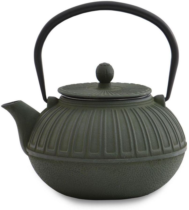Чайник заварочный BergHOFF Studio, чугунный, цвет: зеленый, 850 мл1107112