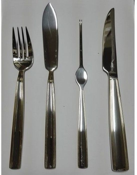 Набор столовых приборов для рыбы и стейка BergHOFF Orchestra Gold, 24 предмета1224718