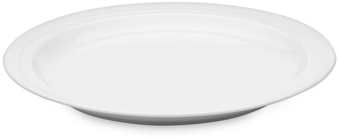 Набор тарелок BergHOFF Hotel, диаметр 26 см, 2 шт1690025АТарелки круглые BergHOFF Hotel изготовлены из высококачественного фарфора. Разработаны для ежедневного использования, защищены от царапин, оставляемых столовыми приборами. Подходят для посудомоечной машины. Подходят для использования в микроволновой печи.