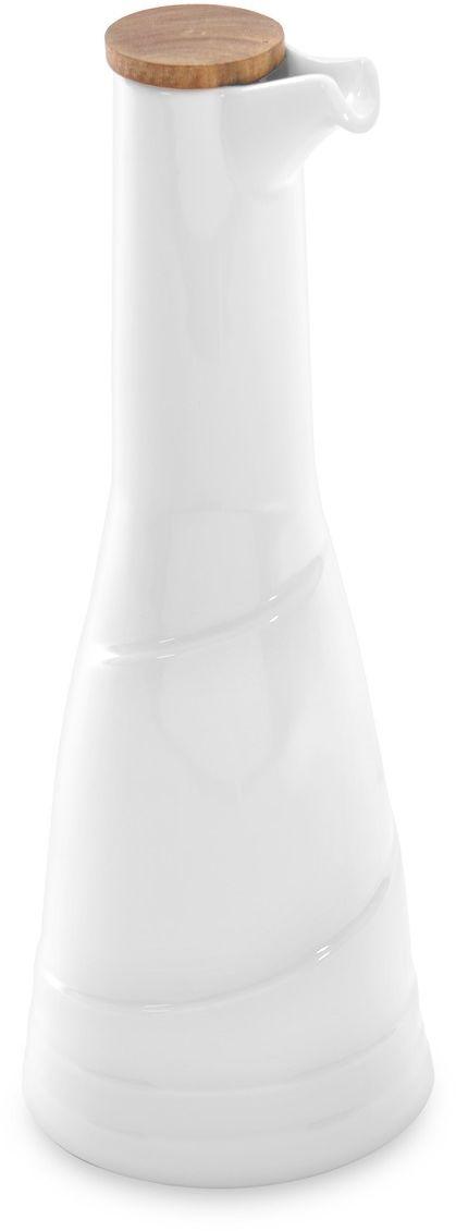 Бутылка для масла BergHOFF Hotel, цвет: белый, 385 мл1690247Бутылка для масла BergHOFF Hotel – небольшой фарфоровый дозатор для масла с защитой от царапин.