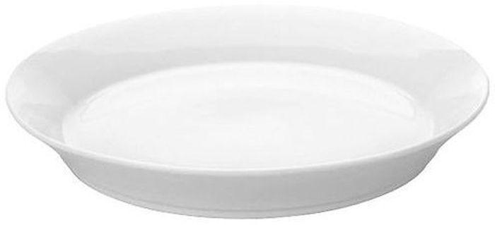 Тарелка для пасты BergHOFF Concavo, 28 см1693224Тарелка для пасты BergHOFF Concavo с высоким бортиком выполнена из высококачественного фарфора однотонного цвета и прекрасно подойдет для вашей кухни. Такая тарелка изысканно украсит сервировку как обеденного, так и праздничного стола. Предназначена для подачи вторых блюд. Пригодна для использования в микроволновой печи. Можно мыть в посудомоечной машине.Диаметр: 28 см.
