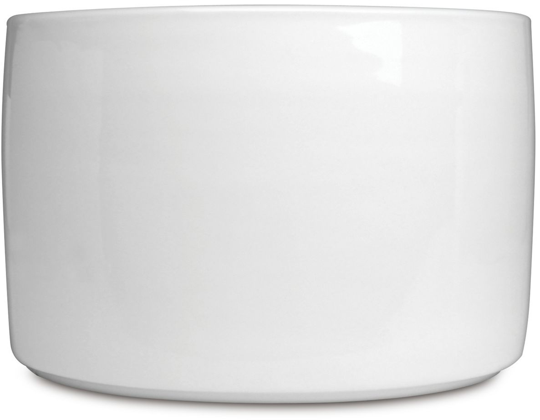 Миска BergHOFF Concavo, цвет: белый, 2,5 л1693422Миска BergHOFF Concavo выполнена из высококачественного белого фарфора. Каждый предмет имеет штамп логотипа BergHOFF - знак качества и современного дизайна. Миска устойчива к царапинам от ножей и вилок. Подходит для посудомоечных машин, печей и духовых шкафов.