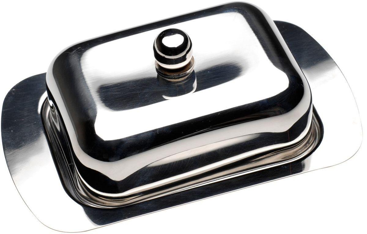 Масленка BergHOFF Cook&Co, с крышкой, 18,5 х 12,5 х 5 см2800614Масленка BergHOFF Cook&Co изготовлена из высококачественной нержавеющей стали. Изделие предназначено для красивой сервировки и хранения масла. Масло в ней долго остается свежим, а при хранении в холодильнике не впитывает посторонние запахи. Можно мыть в посудомоечной машине.