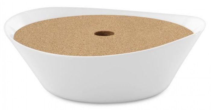 Миска для спагетти BergHOFF Eclipse, с пробковой крышкой, 2,5 л3700431Миска для спагетти BergHOFF Eclipse с пробковой крышкой выполнена из высококачественного фарфора. Каждый предмет имеет штамп логотипа BergHOFF - знак качества и современного дизайна. Миска устойчива к царапинам от ножей и вилок. Подходит для посудомоечных машин, печей и духовых шкафов.
