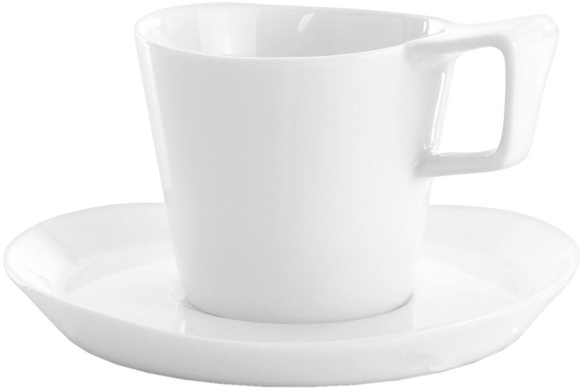 Набор кофейный BergHOFF Eclipse, цвет: белый, 4 предмета. 37004323700432Кофейный набор BergHOFF Eclipse состоит из двух чашек и двух блюдец, изготовленных из высококачественного фарфора. Изящный дизайн придется по вкусу и ценителям классики, и тем, кто предпочитает утонченность и изысканность. Он настроит на позитивный лад и подарит хорошее настроение с самого утра. Кофейныйнабор Eclipse - идеальный и необходимый подарок для вашего дома и для ваших друзей в праздники.Можно мыть в посудомоечной машине.Объем чашки: 180 мл.