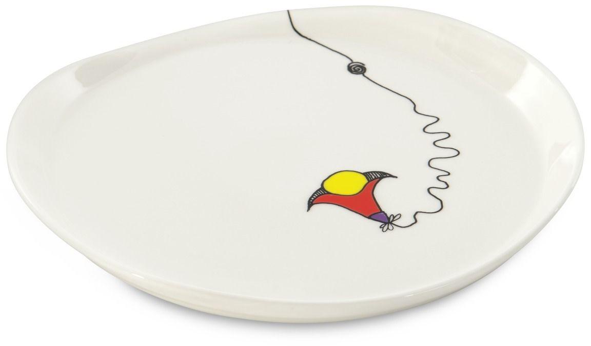 """Тарелки круглые BergHOFF """"Ornament"""" изготовлены из высококачественного фарфора, с ярким лаконичным орнаментом Разработаны для ежедневного использования, защищены от царапин, оставляемых столовыми приборами. Подходят для посудомоечной машины. Подходят для использования в микроволновой печи."""