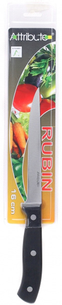 Нож для мяса Attribute Knife Rubin NEW, 2 х 16 смAKR316