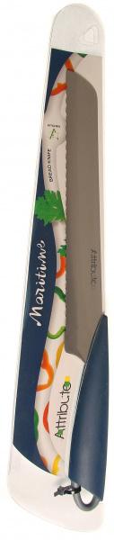 Нож для хлеба Attribute Knife Маритайм, 20 смAKM420