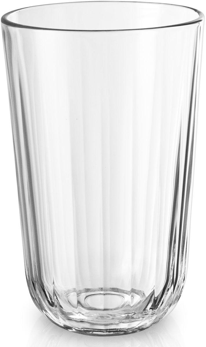 Стаканы Eva Solo, граненые, 430 мл, 4 шт. 567435567435Большие граненые стаканы объемом 430 мл прекрасно подойдут для подачи любимых напитковили сливочных десертов. Стаканы имеют простой лаконичный дизайн, который будет удачносочетаться с другими элементами посуды. Стаканы выполнены и выдувного стекла, благодаря чему являются более прочными ижаростойкими (выдерживают температуру до 130°), чем изделия из прессованного стекла.Стаканы подходят для посудомоечных машин со специальной программой для стекла.