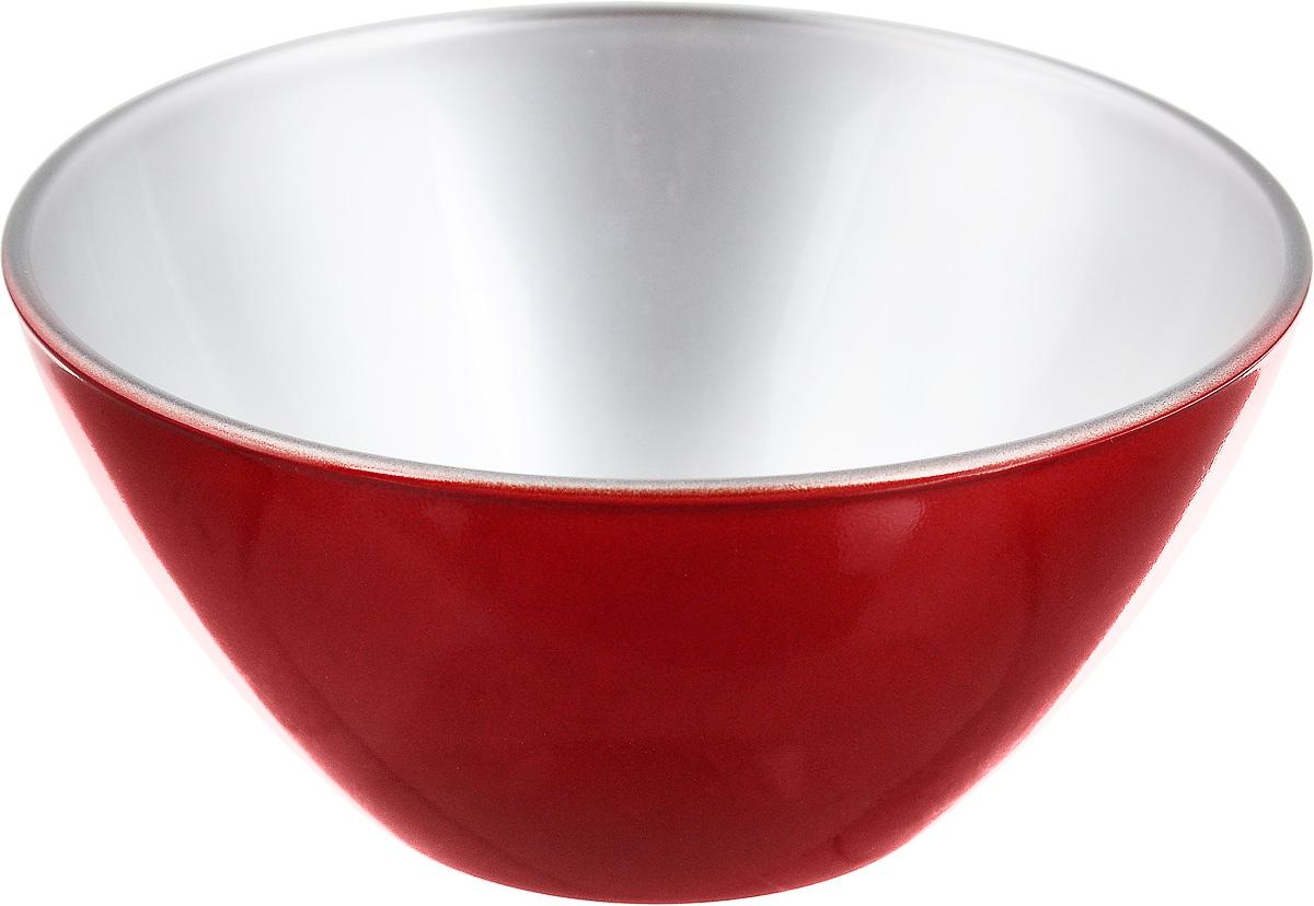 Салатник Luminarc Flashy Colors, цвет: красный, диаметр 12 см салатник luminarc trianon  диаметр 12 см