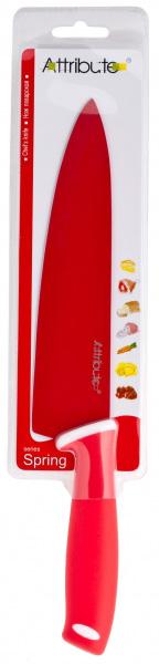 Нож поварской Attribute Knife Спринг Рэд, 20 смAKK520