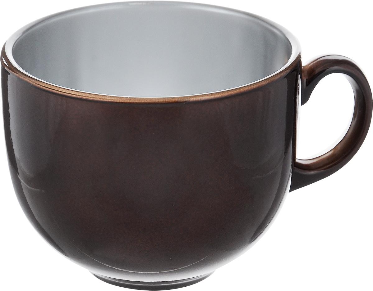 Бульонница Luminarc Flashy Colors, цвет: коричневый, 500 млJ1114Бульонница Luminarc Flashy Colors изготовлена из высококачественного стекла,оснащена эргономичной ручкой.Изделие дополнит коллекцию кухонной посуды и будет служить долгие годы. Можно мыть в посудомоечной машине и использовать в микроволновой печи. Диаметр (по верхнему краю): 10,5 см. Высота бульонницы: 9 см.