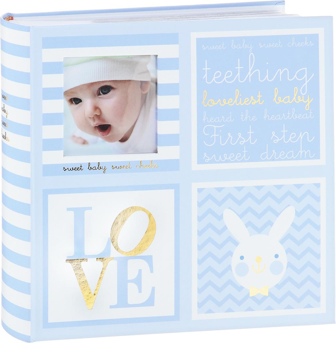Фотоальбом Image Art Baby, 200 фотографий, 10 x 15 см, цвет: голубой. BBM46200/2/026 аксессуар image art 4004 7 passe partout c0035189