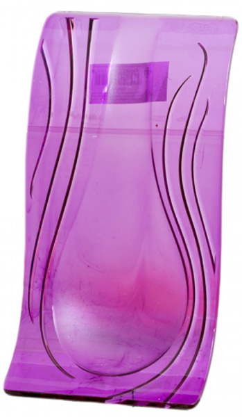 Подставка под ложку Attribute, цвет: фиолетовыйRE841016Подставка под ложку Attribute - очень удобный и полезный аксессуар на вашей кухне. Она поможет поддерживать чистоту на столе во время приготовления пищи. Подставка под ложку Attribute украсит кухонный стол, а также станет замечательным подарком для ваших друзей и близких.