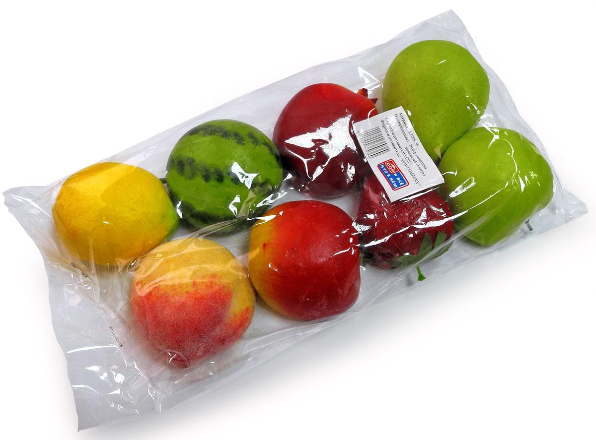 Набор магнитов Дом и все, что в нем Овощи-Фрукты, 8 штLT005-36Набор ярких и оригинальных магнитов Овощи-фрукты станет отличным дополнением вашей кухни. Такой набор украсит любой холодильник и будет смотреться очень натурально.