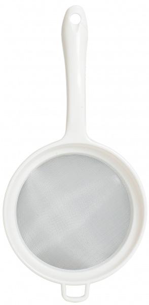 Сито-дуршлаг Attribute Light, 15,5 см. AGP015AGP015Сито-дершлаг Attribute Light, выполненное из пластика, станет незаменимым аксессуаром на вашей кухне. Оно предназначено для просеивания и процеживания. Удобная ручка не позволит выскользнуть изделию из вашей руки. Ручка имеет отверстие, с помощью которого изделие можно подвесить в удобном для вас месте. Такое сито станет достойным дополнением к кухонному инвентарю.