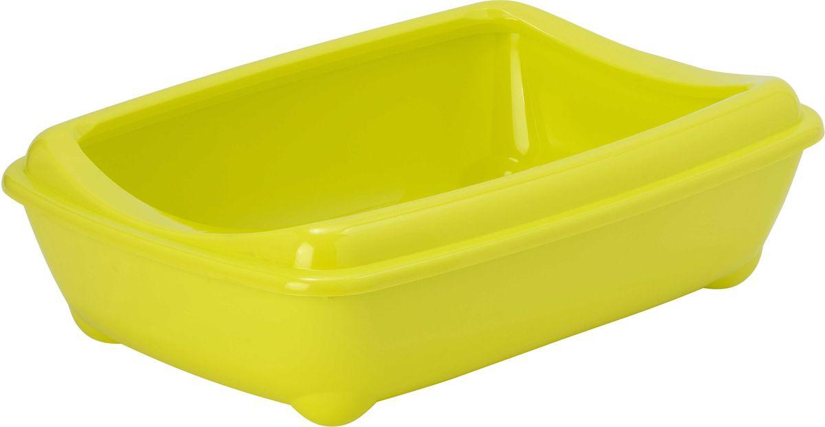 Туалет для кошек Moderna Arist-O-Tray, открытый, цвет: лимон, 31 х 42 х 13 см14C132329Туалет для кошек Moderna Arist-O-Tray изготовлен из высококачественного пластика. Высокий борт, прикрепленный по периметру лотка, удобно надевается и предотвращает разбрасывание наполнителя. Такой туалет не впитывает неприятные запахи и прекрасно отмывается.