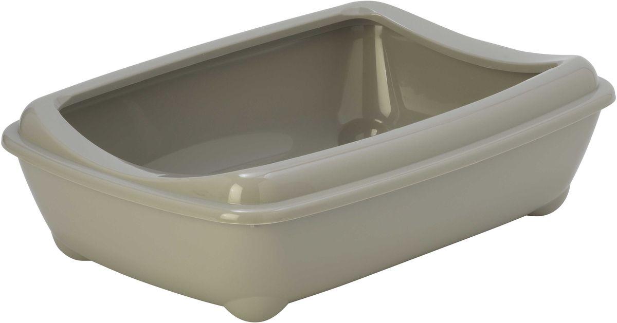 Туалет для кошек Moderna Arist-O-Tray, открытый, цвет: светло-серый, 31 х 42 х 13 см14C132330Туалет для кошек Moderna Arist-O-Tray изготовлен из высококачественного пластика. Высокий борт, прикрепленный по периметру лотка, удобно надевается и предотвращает разбрасывание наполнителя. Такой туалет не впитывает неприятные запахи и прекрасно отмывается.