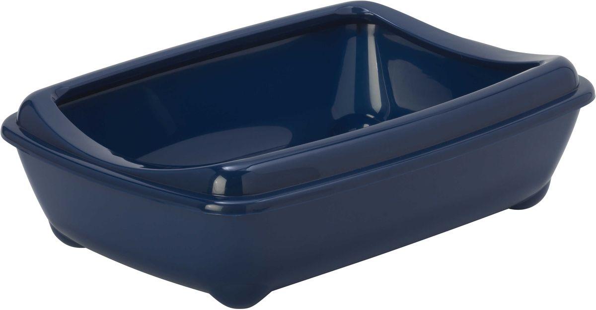 Туалет для кошек Moderna Arist-O-Tray, с бортом, цвет: черника, 42 х 31 х 13 см14C132331Туалет для кошек Moderna Arist-O-Tray изготовлен из высококачественного пластика. Высокий борт, прикрепленный по периметру лотка, удобно надевается и предотвращает разбрасывание наполнителя. Такой туалет не впитывает неприятные запахи и прекрасно отмывается.Размер лотка без бортика: 42 х 31 х 10 см.Размер лотка с бортиком: 42 х 31 х 13 см.