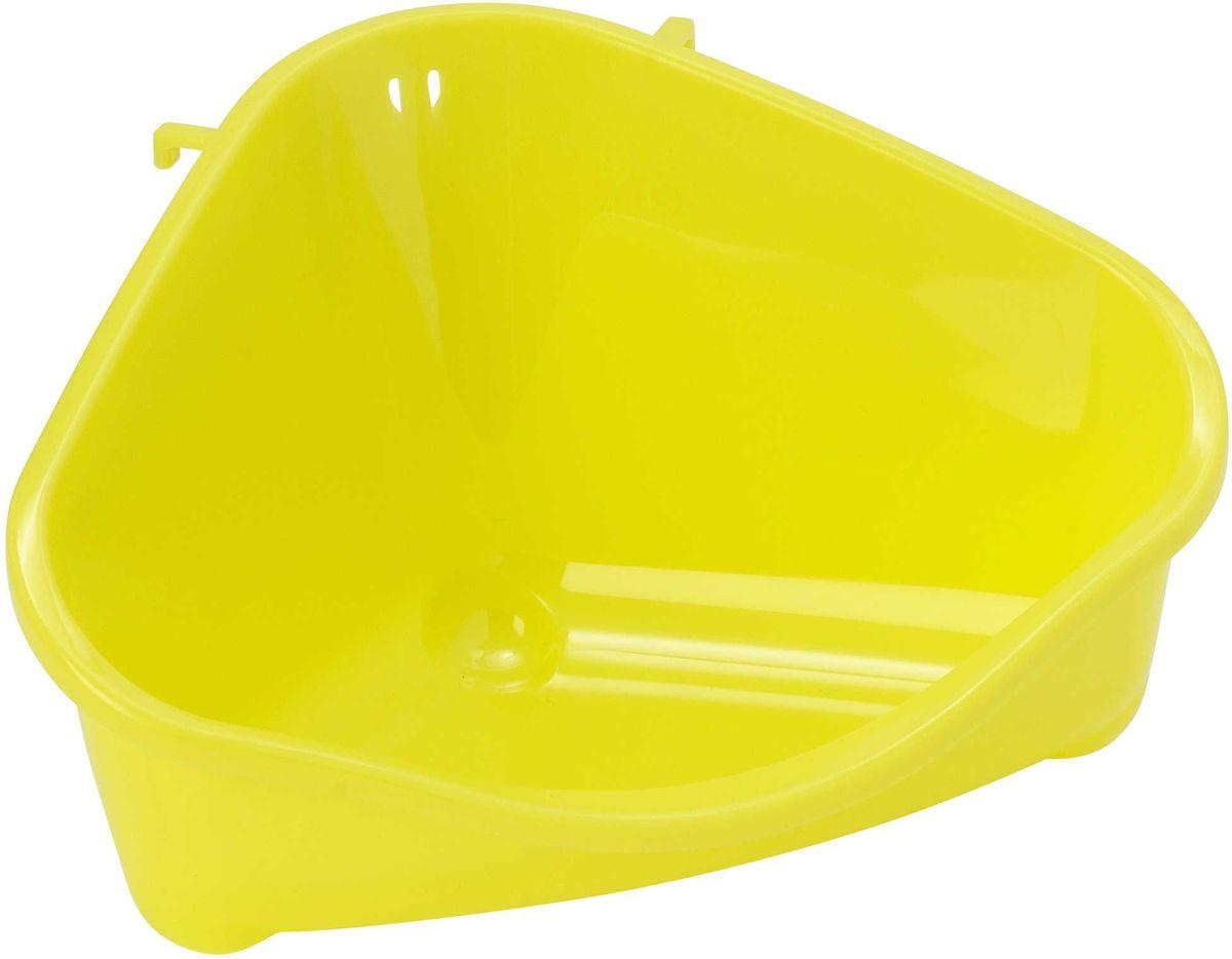 Место для грызуна Moderna, цвет: лимон, 18,3 х 12,7 х 9,6 см миска moderna smarty bowl с антискольжением цвет бордовый 19 х 7 см