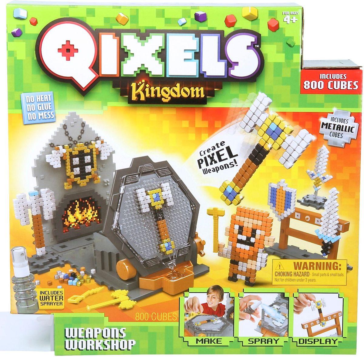 Qixels Мозаика Королевство Оружейная мастерская дополнительный набор qixels для 3d принтера в ассортименте