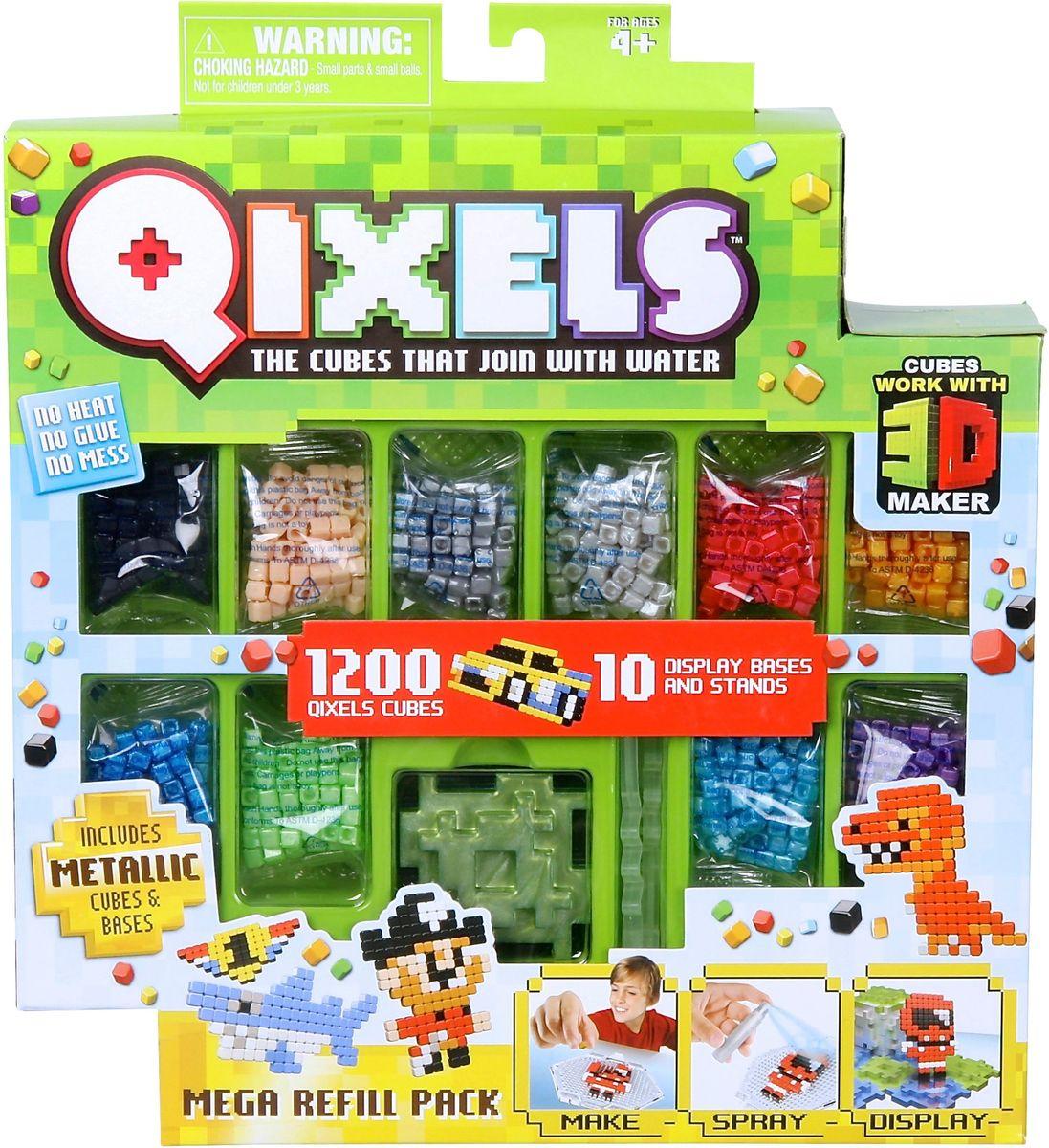 Qixels Дополнительный набор кубиков Qixels дополнительный набор qixels для 3d принтера в ассортименте