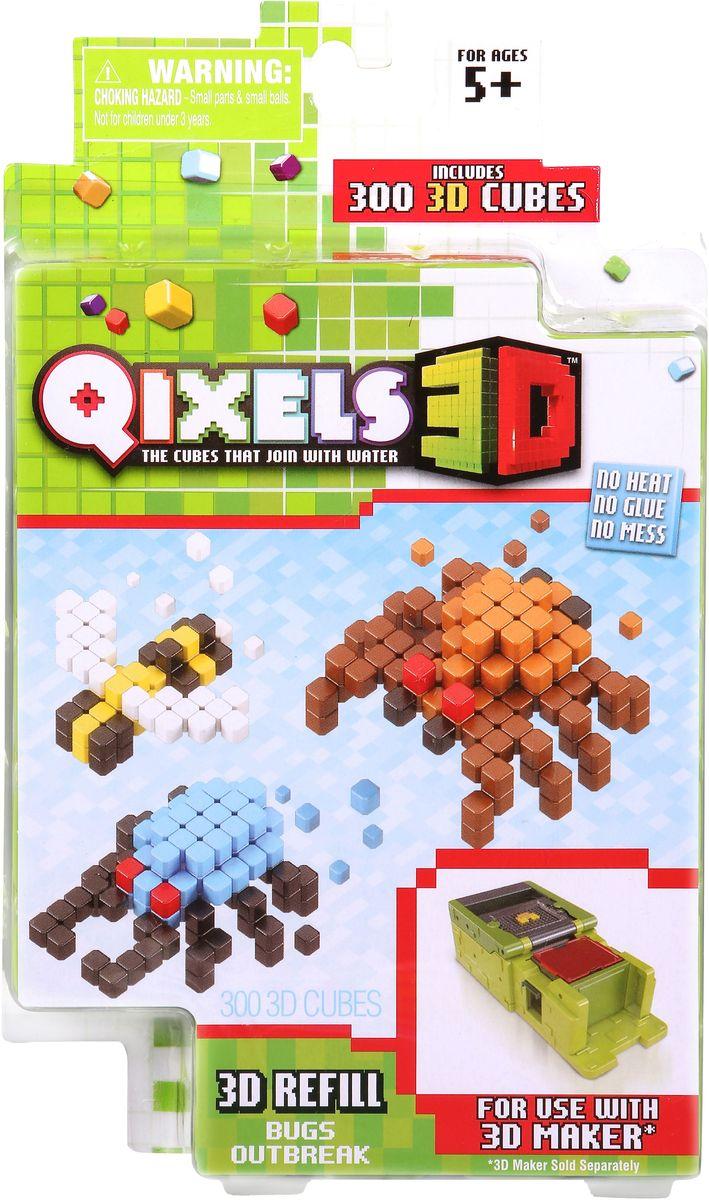 Qixels Дополнительный набор для 3D принтера Жуки игровые наборы esschert design набор игровой kg118