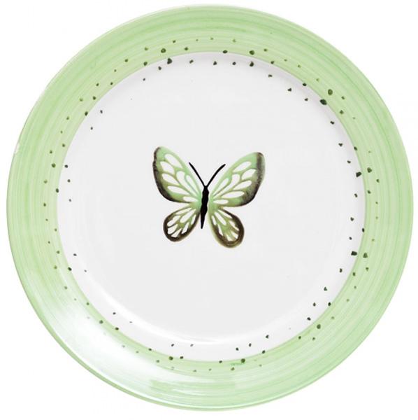 Тарелка десертная Attribute Summer Joy Green, 19 смADS231
