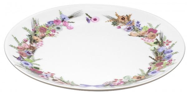 Тарелка десертная Domenik Crown Of Flowers, 19 смDM9584