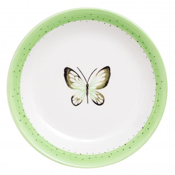 Тарелка обеденная Attribute Summer Joy Green, 24 смADS211