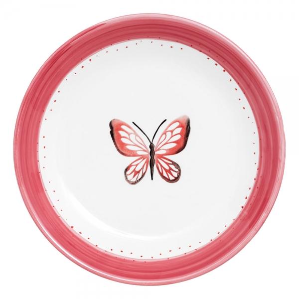 Тарелка обеденная Attribute Summer Joy Red, 24 смADS111