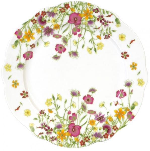 Тарелка обеденная Domenik Meadow, 26 см посуда из фарфора оптом