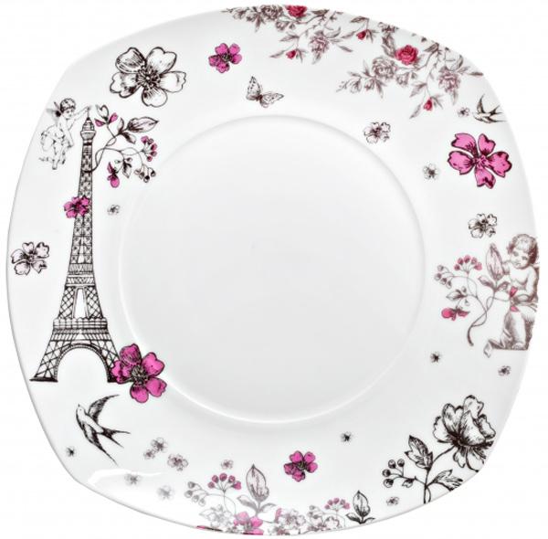 Тарелка обеденная Domenik Souvenirs De Paris, диаметр 26 смDM9120Тарелка обеденная Domenik Souvenirs De Paris выполнена из фарфора, с цветочным дизайном. Посуда Domenik отличается прочностью, гигиеничностью и долгим сроком службы. Такая тарелка прекрасно подойдет как для повседневного использования, так и для праздников или особенных случаев. Тарелка обеденная Domenik Souvenirs De Paris - великолепное дизайнерское решение для вашей кухни или столовой.