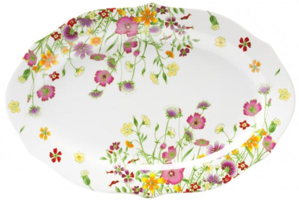 Тарелка овальная Domenik Meadow, 24 см тарелка суповая meadow 24см 894125