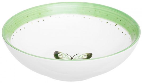 Тарелка суповая Attribute Summer Joy Green, 18 смADS221