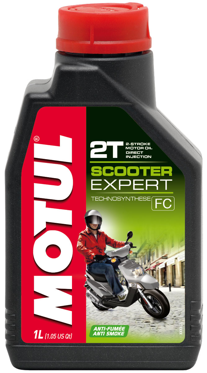 Масло моторное Motul Scooter Expert 2T, 1 л. 106604 моторное масло motul outboard 2t 1 л