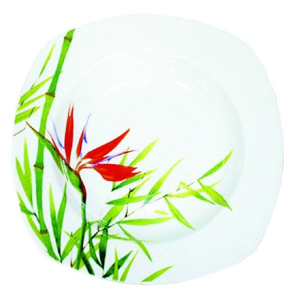 Тарелка суповая Domenik Bamboo, 21 смDM9021