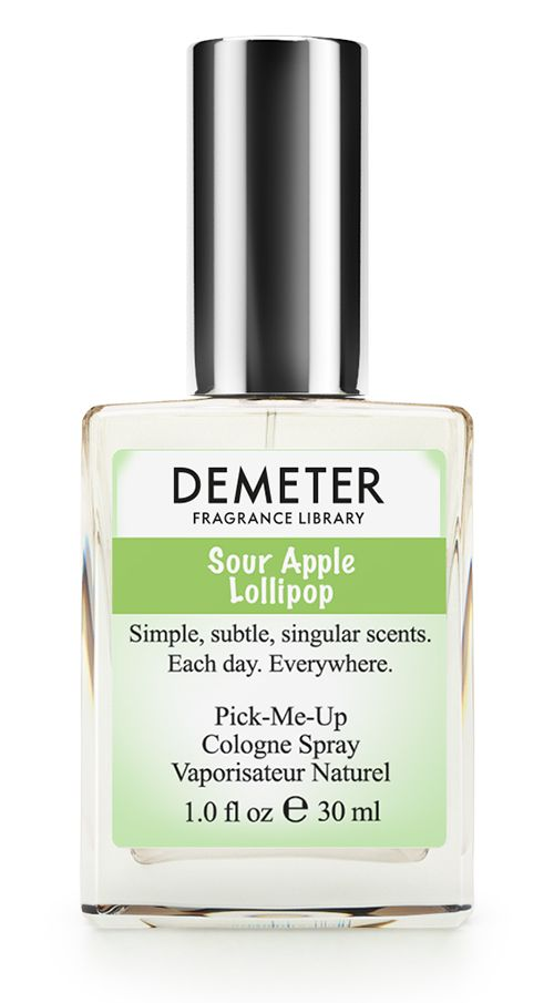 Demeter Fragrance Library Духи-спрей Кислое яблоко (Sour apple lollipop), женские, 30 мл
