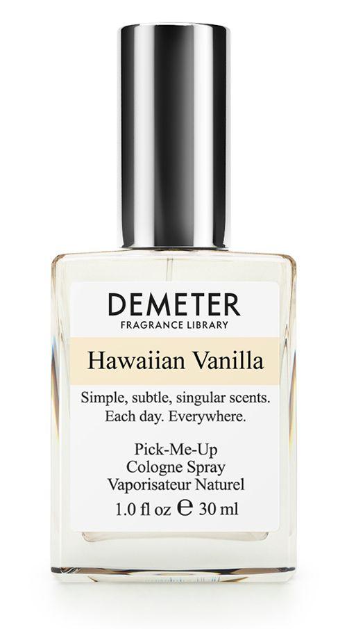Demeter Fragrance Library Духи-спрей Гавайская ваниль (Hawaiian Vanilla), женские, 30 млDM28337Скажите честно, кому нужен унылый и серый город, в котором вы живете, когда есть красивые и теплые Гавайи? А скажите, кому нужна, например, горькая лебеда, когда есть сладкая ваниль? Речь о том, что когда есть сладкая и невероятно крутая Гавайская ваниль от Demeter, то кому нужна сомнительная и невнятная Красная Москва или Пиковая дама?Способ применения: нанести на сухую, чистую кожу. На точки пульса, волосы, одежду. Духи считаются самым изысканным видом парфюмерной продукции и содержат самый большой процент ароматической композиции (от 15% до 30% и более), растворенной в очень чистом спирте (96% об.). Высокое содержание экстракта обеспечивает духам большую стойкость и силу по сравнению с другими видами парфюмерных товаров. Всего лишь пары капель достаточно для того, чтобы запах держался в течение 5 и более часов.Товар сертифицирован.