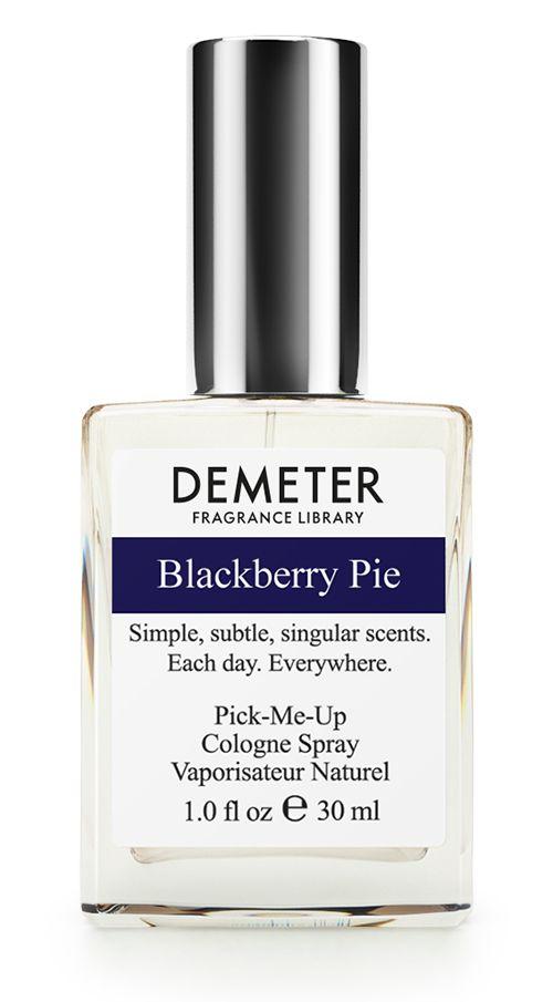 Demeter Fragrance Library Духи-спрей Ежевичный пирог (Blackberry pie), женские, 30 млDM60537Ароматная ежевика ценится не только за свой потрясающий вкус, но и за полезные свойства. Ежевичный пирог - это двойная порция пользы и удовольствия. Теплый, ягодно-пряный аромат Demeter Blackberry Pie не оставит вас равнодушными. Вы только попробуйте!Способ применения: нанести на сухую, чистую кожу. На точки пульса, волосы, одежду.Духи считаются самым изысканным видом парфюмерной продукции и содержат самый большой процент ароматической композиции (от 15% до 30% и более), растворенной в очень чистом спирте (96% об.). Высокое содержание экстракта обеспечивает духам большую стойкость и силу по сравнению с другими видами парфюмерных товаров. Всего лишь пары капель достаточно для того, чтобы запах держался в течение 5 и более часов.Товар сертифицирован.