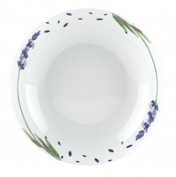 Тарелка суповая Domenik Lavender Blade, диаметр 21 смDM9242Тарелка суповая Domenik Lavender Blade выполнена из фарфора, с цветочным дизайном. Посуда Domenik отличается прочностью, гигиеничностью и долгим сроком службы. Такая тарелка прекрасно подойдет как для повседневного использования, так и для праздников или особенных случаев. Тарелка суповая Domenik Lavender Blade - великолепное дизайнерское решение для вашей кухни или столовой.