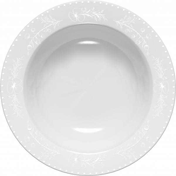 Тарелка суповая Domenik Spring Romance, диаметр 23 смDM9462Тарелка суповая Domenik Spring Romance выполнена из фарфора. Посуда Domenik отличается прочностью, гигиеничностью и долгим сроком службы. Такая тарелка прекрасно подойдет как для повседневного использования, так и для праздников или особенных случаев. Тарелка суповая Domenik Spring Romance - великолепное дизайнерское решение для вашей кухни или столовой.