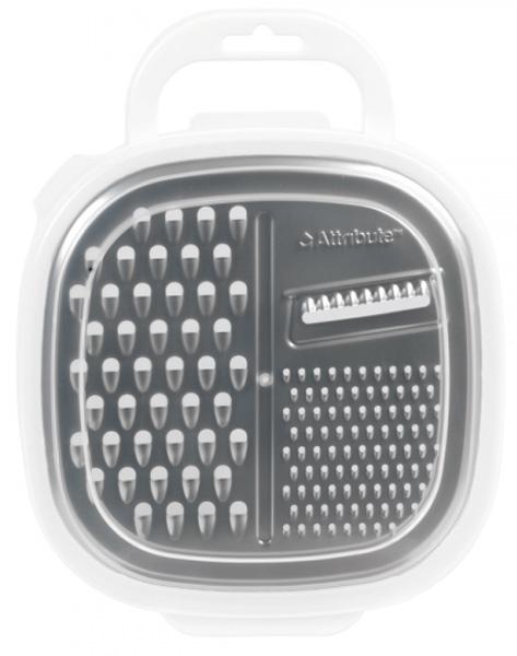 Терка с контейнером Attribute Viva White. ATV229ATV229