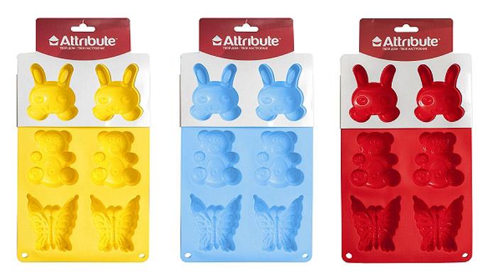 Форма для кексов Attribute Детская, 6 шт. ABS209ABS209